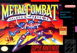 Box artwork for Metal Combat: Falcon's Revenge.