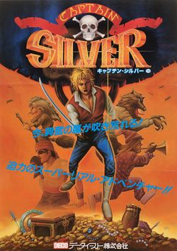 Box artwork for Captain Silver.