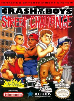 Box artwork for Crash'n the Boys Street Challenge.