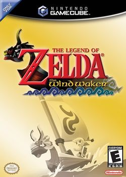 Box artwork for The Legend of Zelda: The Wind Waker.