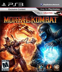 Box artwork for Mortal Kombat.