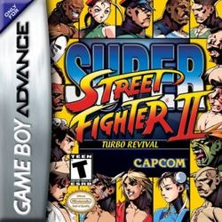 Box artwork for Super Street Fighter II Turbo Revival.