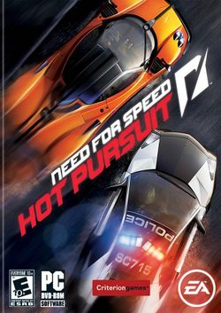 Box artwork for Need for Speed: Hot Pursuit.