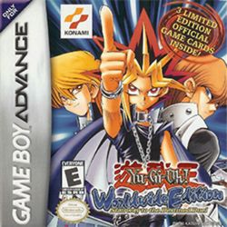 Box artwork for Yu-Gi-Oh! Worldwide Edition: Stairway to the Destined Duel.