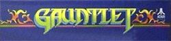 The logo for Gauntlet.
