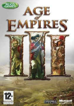 Box artwork for Age of Empires III.