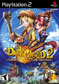 Box artwork for Dark Cloud 2.