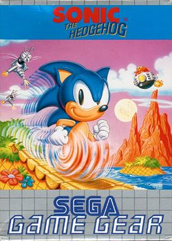 Box artwork for Sonic the Hedgehog (8-bit).