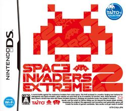Box artwork for Space Invaders Extreme 2.