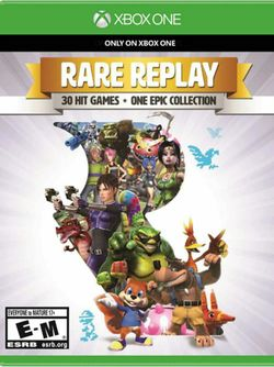 Box artwork for Rare Replay.
