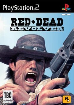 Box artwork for Red Dead Revolver.