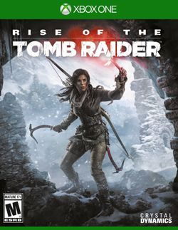 Box artwork for Rise of the Tomb Raider.
