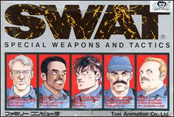 Box artwork for SWAT: Special Weapons and Tactics.