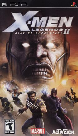 Box artwork for X-Men Legends II: Rise of Apocalypse.