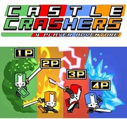 Box artwork for Castle Crashers.