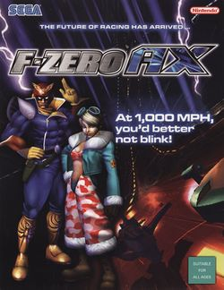 Box artwork for F-Zero AX.