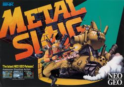 Box artwork for Metal Slug.