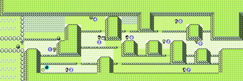 Pokemon Red And Blue Route 9 10 Strategywiki The Video Game Walkthrough And Strategy Guide Wiki