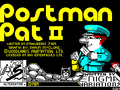 Postman Pat 2 Phew, What a Scorcher title screen (ZX Spectrum).png