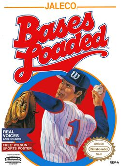 Box artwork for Bases Loaded.