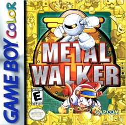 Box artwork for Metal Walker.