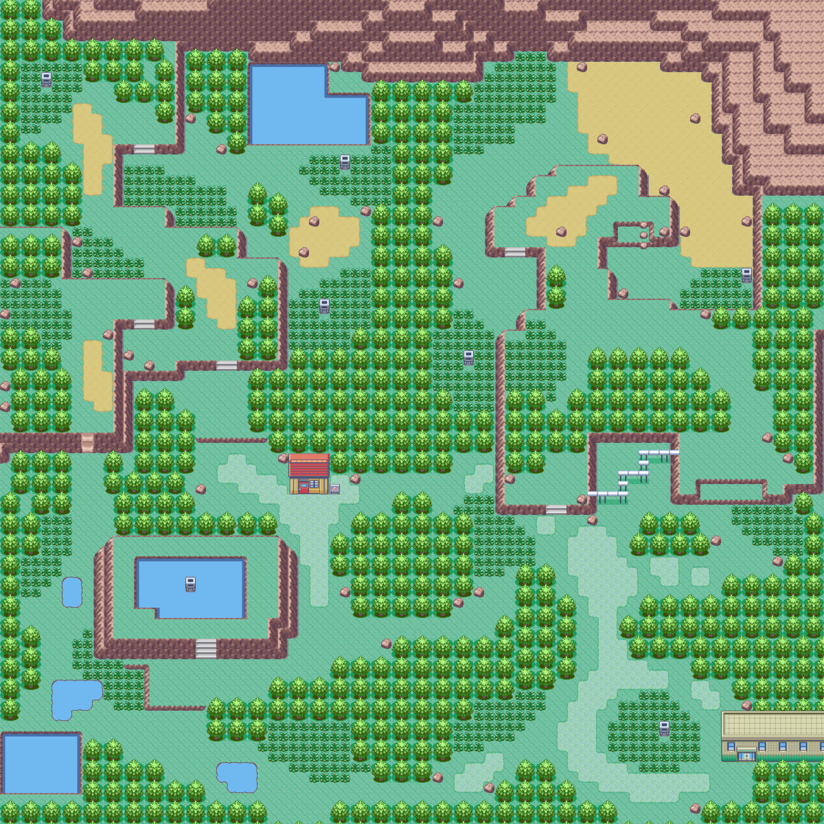 Pokémon Ruby and Sapphire/Safari Zone — StrategyWiki, the ... on route 6 map, route 20 map, safari trees, dark cave map, pokemon soul silver map, route 5 map, victory road map, safari flowers, shoal cave map, route 13 map, route 11 map, route 30 map, new mauville map, route 33 map, route 12 map, route 10 map, pokemon emerald map, route 17 map, pokemon safari map, route 1 map,
