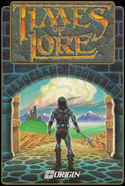 Box artwork for Times of Lore.