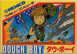 Box artwork for Dough Boy.