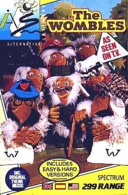 Box artwork for The Wombles.