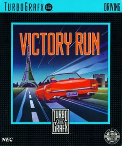 Box artwork for Victory Run.