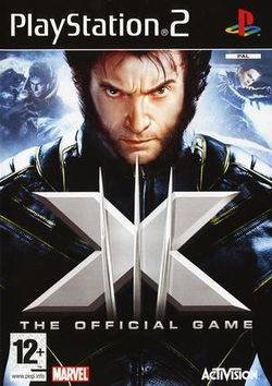 Box artwork for X-Men: The Official Game.