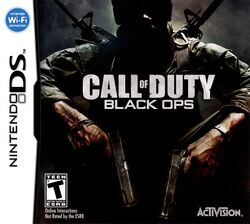Box artwork for Call of Duty: Black Ops (Nintendo DS).
