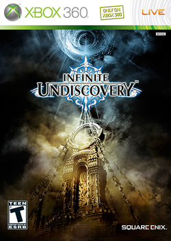 Box artwork for Infinite Undiscovery.