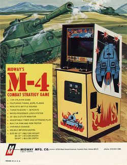 Box artwork for M-4.