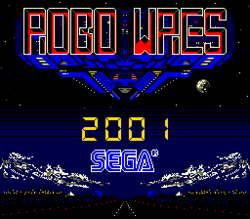 Box artwork for Robo Wres 2001.