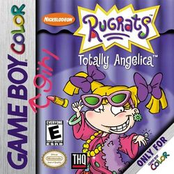 Box artwork for Rugrats: Totally Angelica.