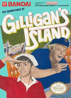 Box artwork for The Adventures of Gilligan's Island.