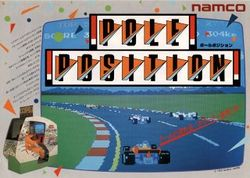 Box artwork for Pole Position.