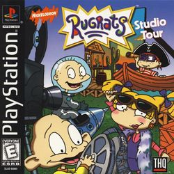 Box artwork for Rugrats Studio Tour.