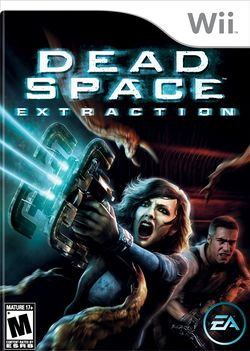 Box artwork for Dead Space: Extraction.
