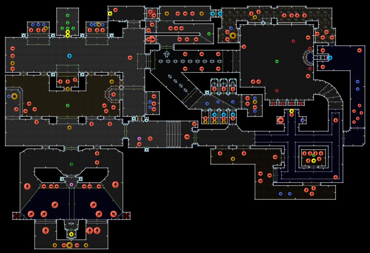 Doom Ii Hell On Earthmap05 The Waste Tunnels Strategywiki The