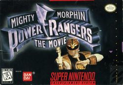 Box artwork for Mighty Morphin Power Rangers: The Movie: Featuring Ivan Ooze.