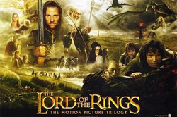 The logo for The Lord of the Rings (movies).