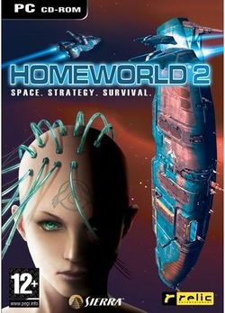 Box artwork for Homeworld 2.