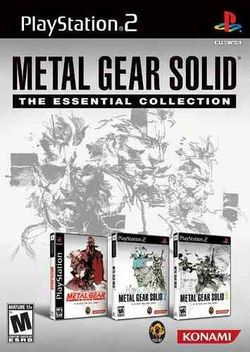 Box artwork for Metal Gear Solid: The Essential Collection.