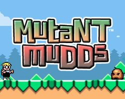 Box artwork for Mutant Mudds.