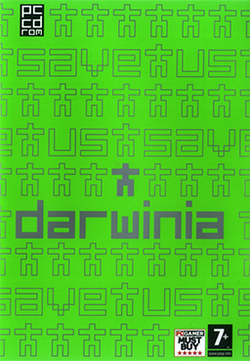 Box artwork for Darwinia.
