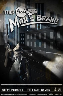 Box artwork for Sam & Max Episode 303: They Stole Max's Brain!.