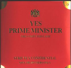 Box artwork for Yes, Prime Minister.