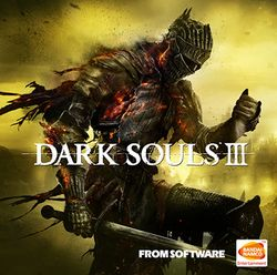 Box artwork for Dark Souls III.